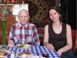 В Москве крестился мужчина в возрасте 97 лет