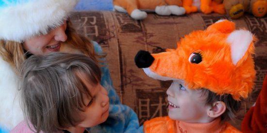 Церковь в Екатеринбурге помогает детям ощутить радость нового года