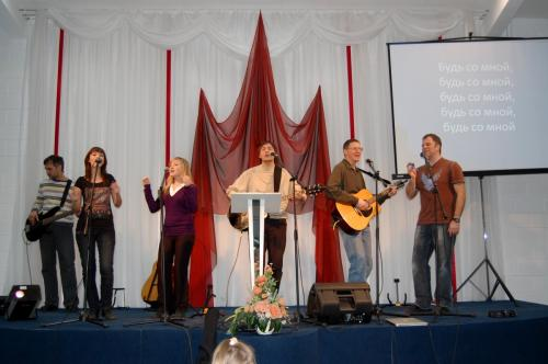 Новосибирск: Гости из Сент-Луиса