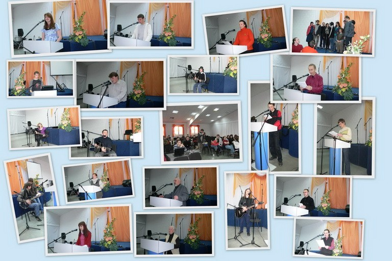 Церковь в Новосибирске устроила вечер талантов для всех желающих