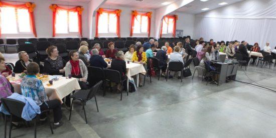 В новосибирской церкви состоялась очередная встреча для старшего поколения