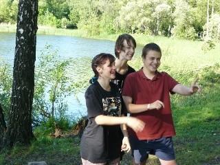 Крещения московских подростков