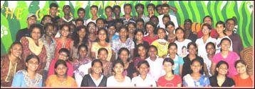 Христианский лагерь для подростков организовала церковь в Индии