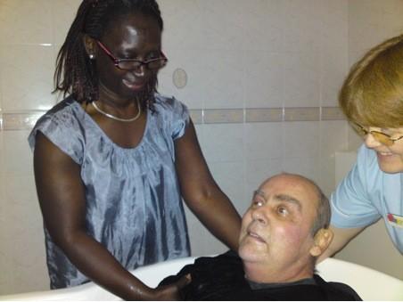Крещение перед смертью после продолжительной борьбы с раком