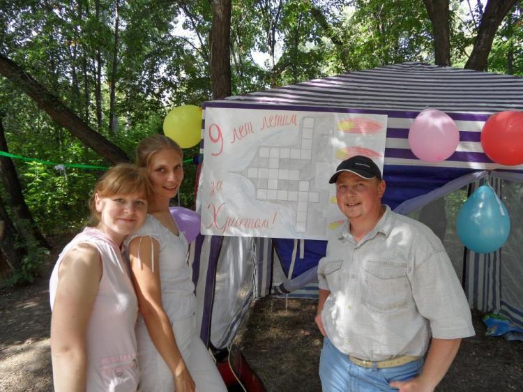 Церковь в Омске отмечает свой день рожедния