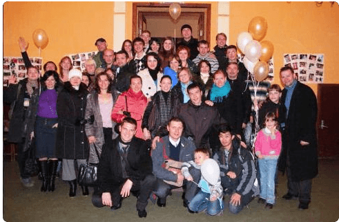 Московские христиане поздравили церковь в Ярославле