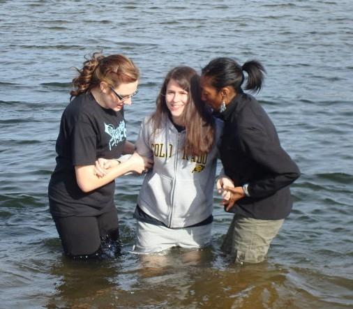 Истории христиан. Крещение в церкви Колорадо.
