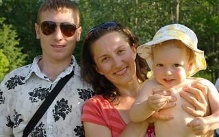 Крещение семейной пары в Уфе