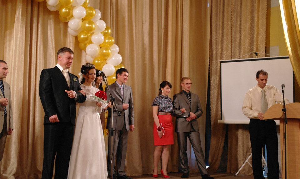 Свадебная церемония в церкви г. Уфы. Видео.
