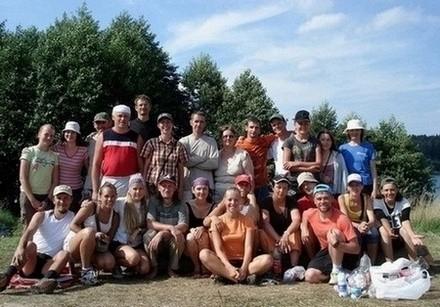 Заповедные озера: поход Минской Церкви Христа в августе 2011 года