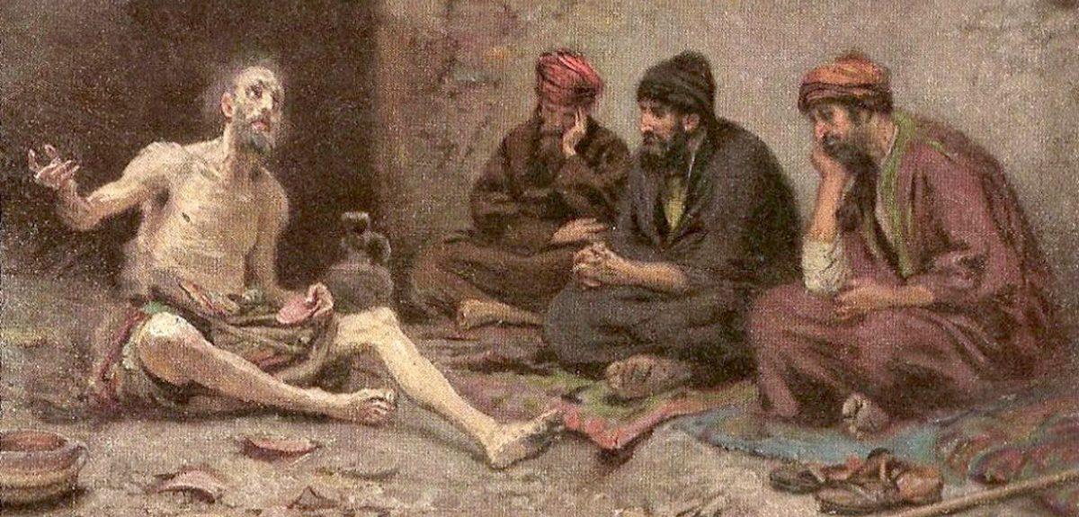 """Речи """"бесполезных врачей"""" и """"жалких утешителей"""" в книге Иова"""