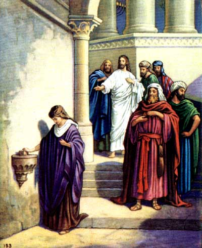 Посвящение Аарона: Прообраз распятия Христа