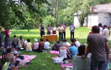 Минская церковь Христа отмечает свой юбилей