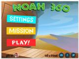 """Христианская игра """"Ной 360"""". Помоги Ною построить ковчег."""