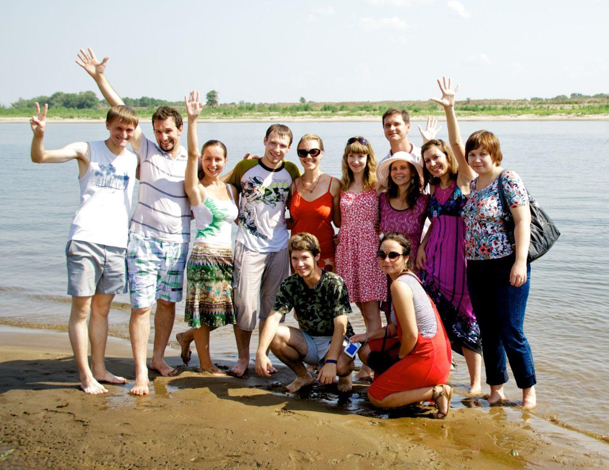 Крещение в городе Волжском