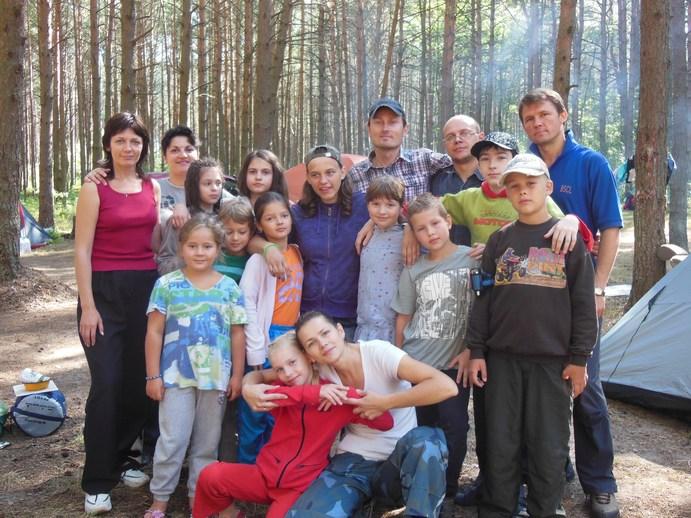"""Как провели лето белорусские """"тигры"""". Поход на Браславские озера"""