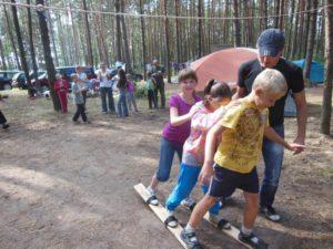 Подростки церкви в Минске отправились в поход на Браславские озера