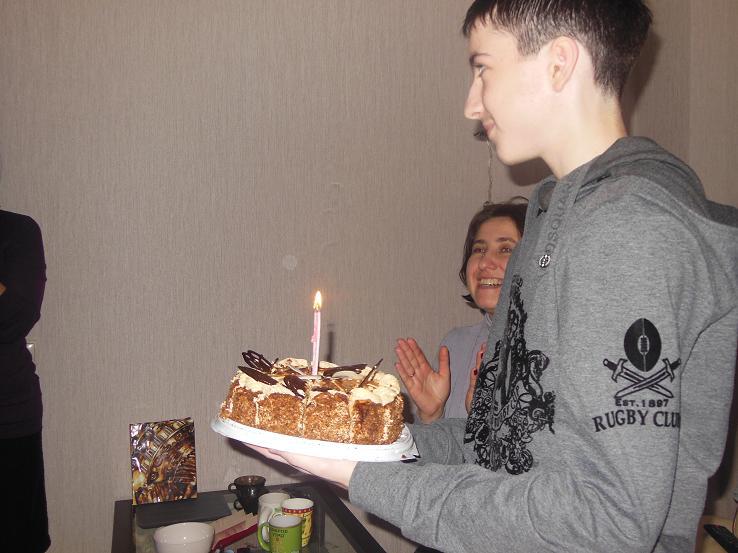 Рука Бога. Крещение нашего сына Стаса в Минске