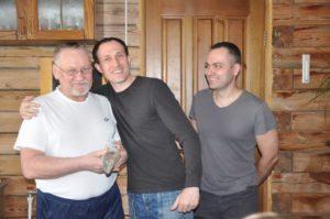 Мой папа крестился после изучения основ христианства