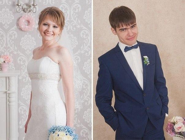 Свадебная церемония в новосибирской церкви