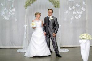 Еще одна христианская свадьба состоялась в Новосибирске