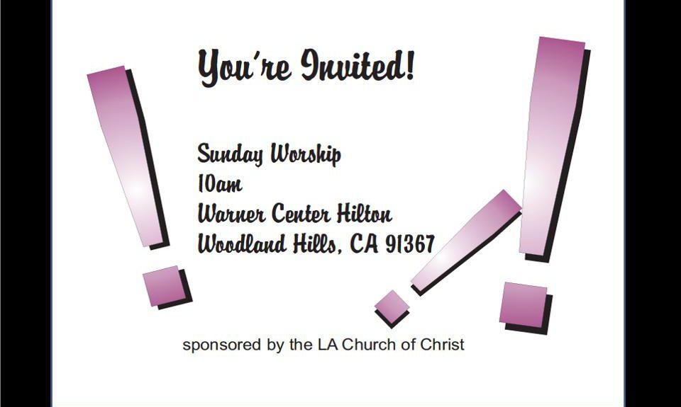 Удивительная история из христианской церкви в Лос-Анджелесе, Америка