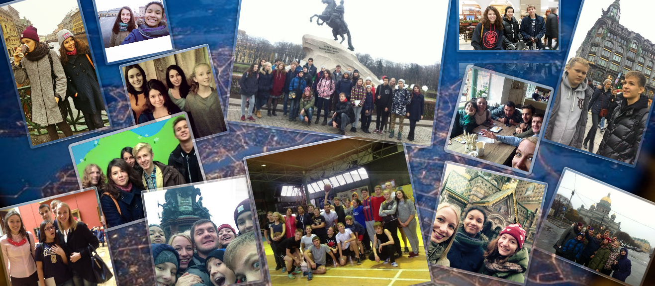 Поездка новосибирских подростков в Санкт-Петербург