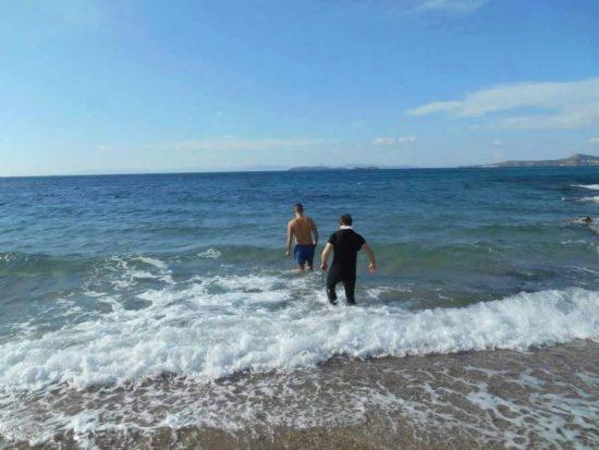 Долгожданное крещение в Афинах