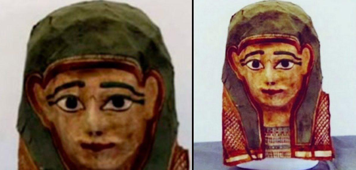 На древней египетской похоронной маске обнаружен старейший манускрипт Нового Завета