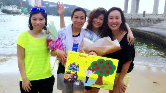 Крещение в церкви Гонконга в Азии