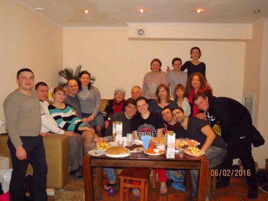 В Одесской Церкви крестилась еще одна семейная пара