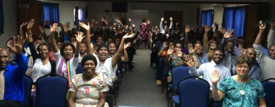 Свежие новости от церквей южной части Тихого океана и Австралии