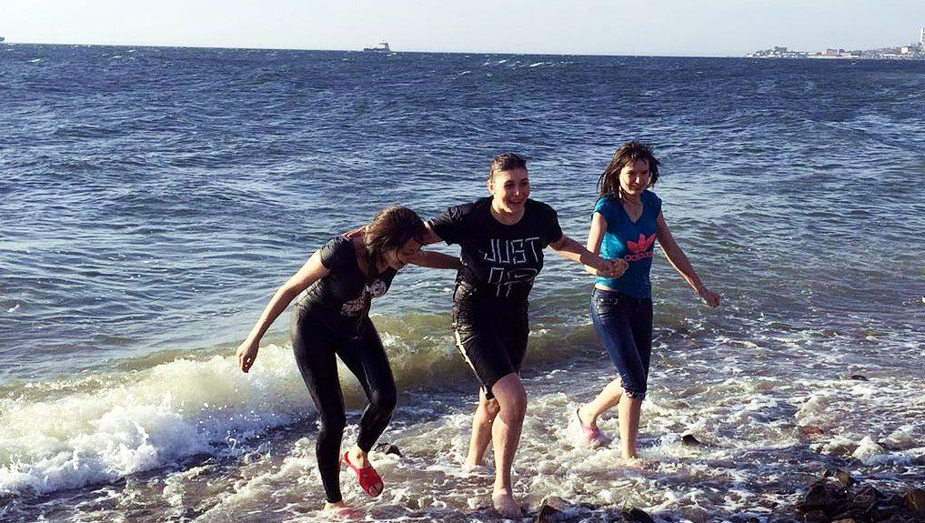 Крещение во Владивостоке: Я с самого детства верила в Бога!
