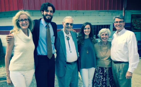 Мой папа крестился в своё 95-тилетие