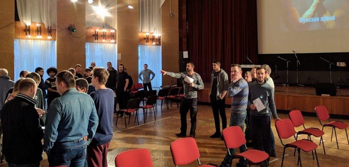 """Христианский форум """"Мужская арена"""" завершился в Санкт-Петербурге"""