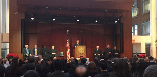 Джозеф Зайс введен в коллегию Верховного Суда Нью-Йорка