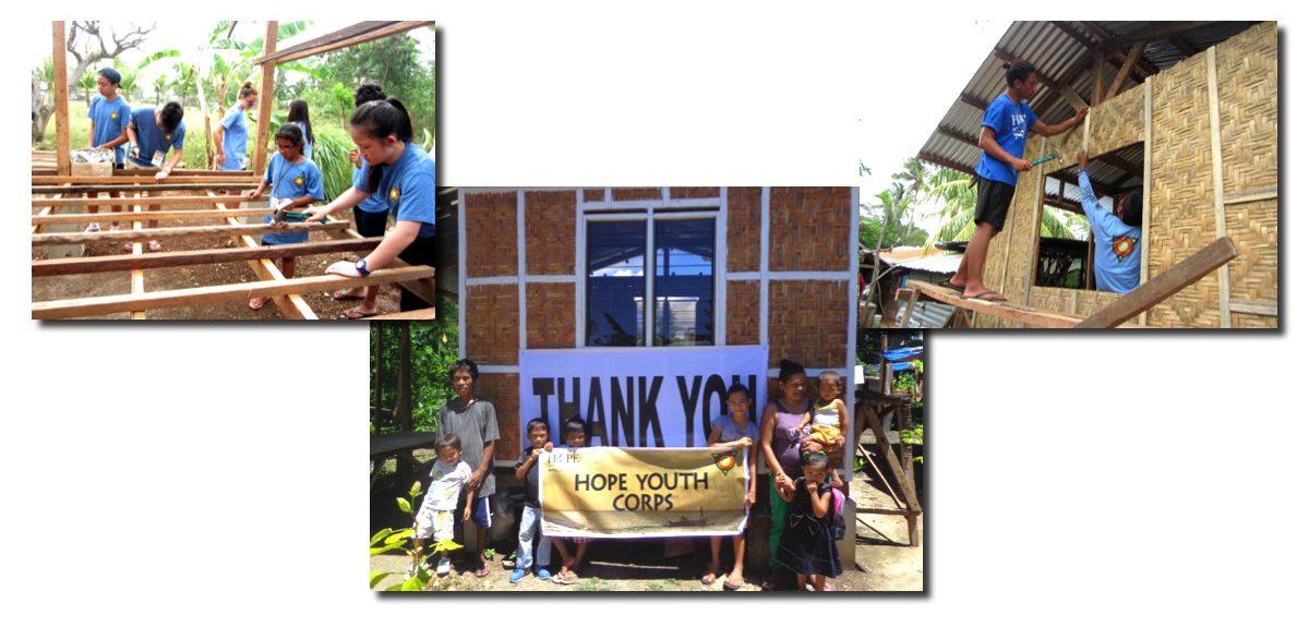 14 домов построили волонтеры Молодежного Корпуса Надежды на Филиппинах