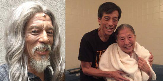 """Лука из мюзикла """"Upside Down"""" крестил свою 91-летнюю маму"""