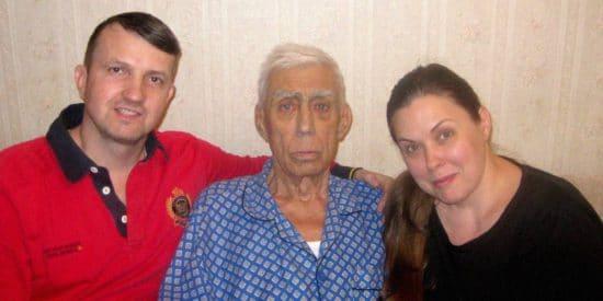 Мой папа крестился в возрасте 81 год