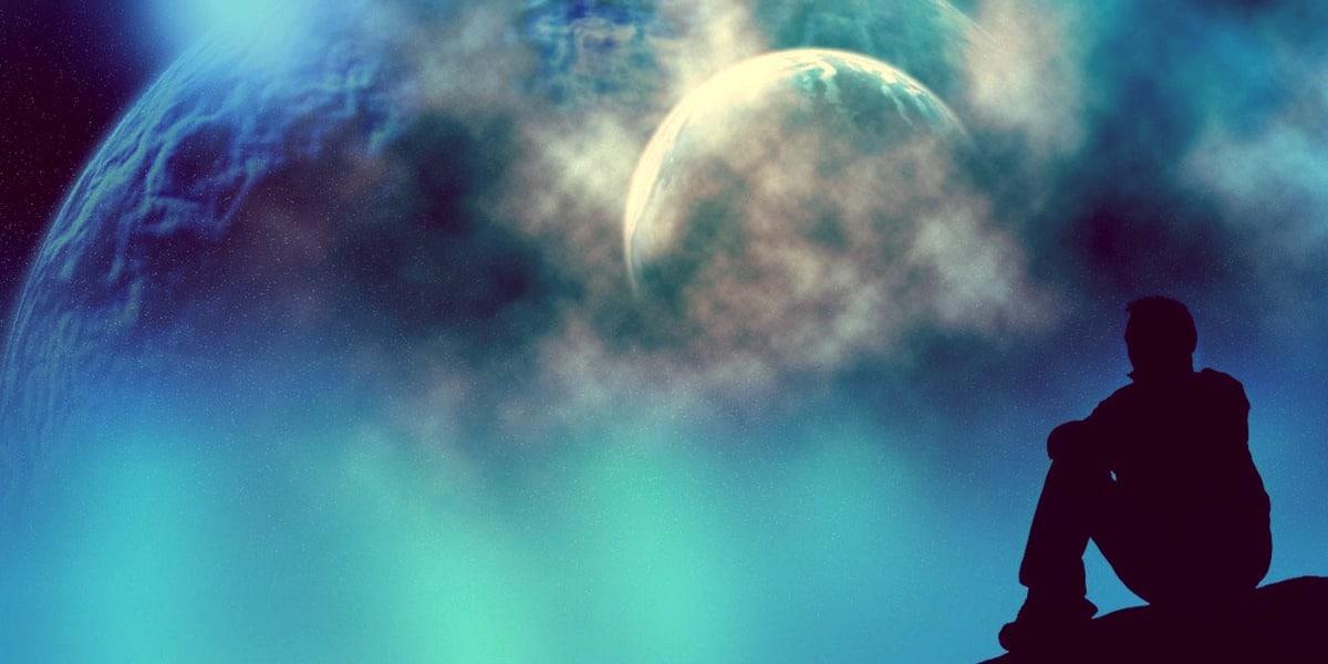 Гравитационные волны и сотворение Вселенной
