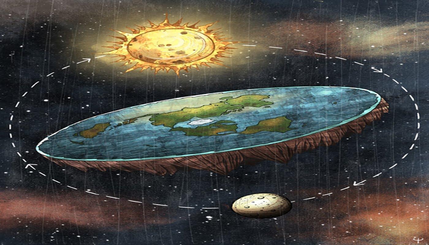 Опровержение теории плоской земли