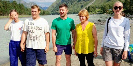 Крещение на Горном Алтае (Сибирь)