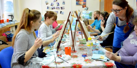 Курсы рисования и живописи в Челябинске от Юлии