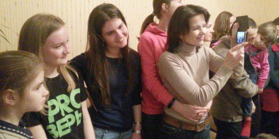 Крещение в Минске в день своего 18-летия
