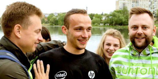 Церковь Христа в Виннице празднует крещение