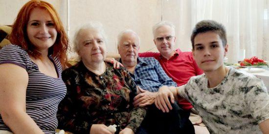 История обращения нашей семьи к Богу