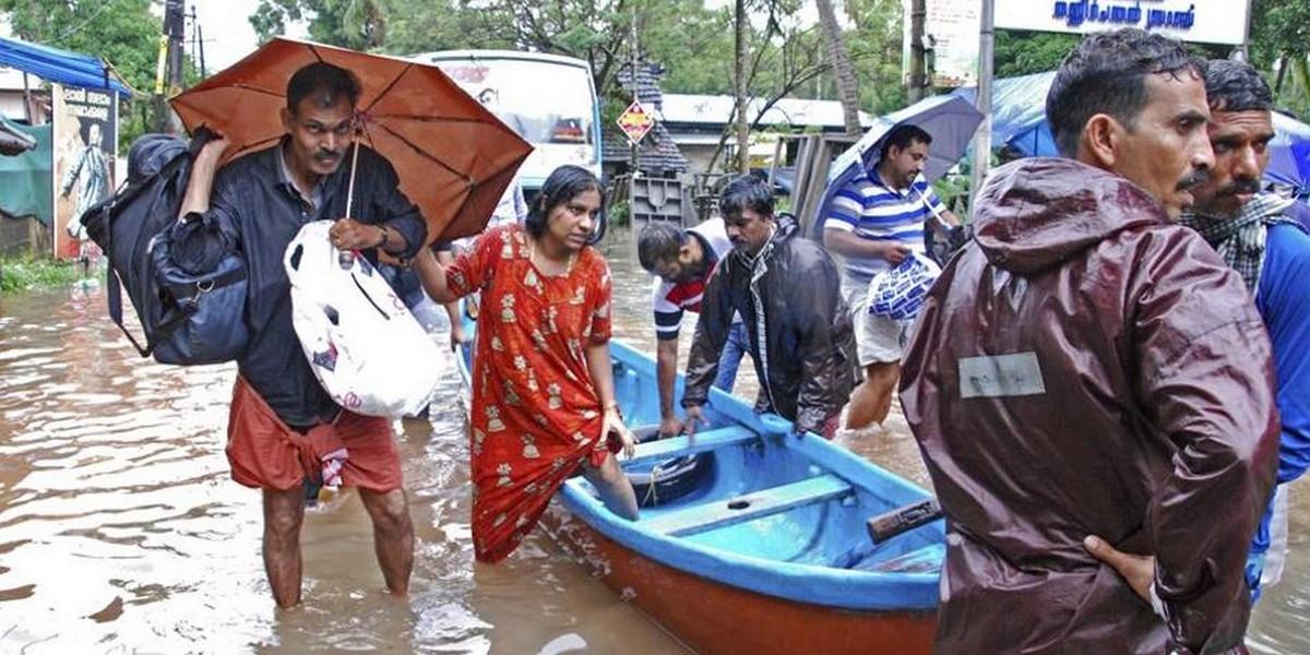 Наводнение в Керале, Индия: просьба молиться за пострадавших