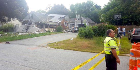 Американские церкви помогают после пожаров в Мерримак Валлей